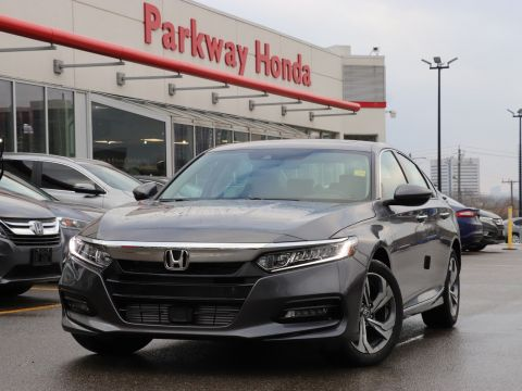 New 2018 Honda Accord Sedan EX-L FWD 4dr Car