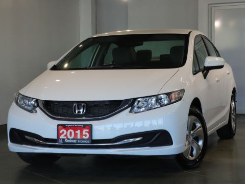 Pre-Owned 2015 Honda Civic Sedan LX - ACCIDENT FREE SAFE & RELIABLE FWD 4dr Car