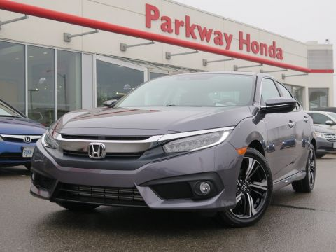 New 2018 Honda Civic Sedan Touring With Navigation