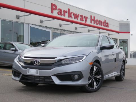 Pre-Owned 2018 Honda Civic Sedan Touring - Demo With Navigation