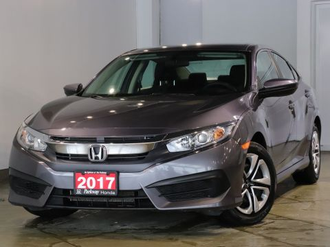 Pre-Owned 2017 Honda Civic Sedan LX - ACCIDENT FREE SPACIOUS & FUN FWD 4dr Car