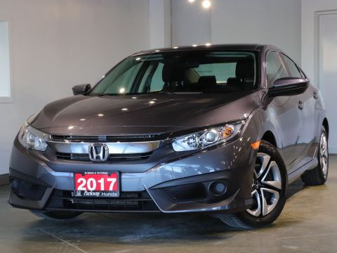 Pre-Owned 2017 Honda Civic Sedan LX FWD 4dr Car