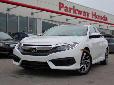 New 2018 Honda Civic Sedan EX FWD 4dr Car