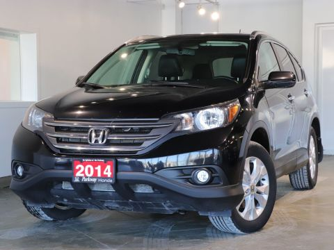 Pre-Owned 2014 Honda CR-V Touring With Navigation & AWD