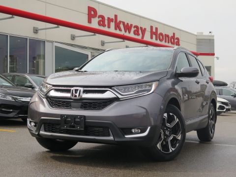 Pre-Owned 2017 Honda CR-V Touring - Demo ($750 incentive available) With Navigation & AWD