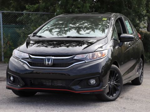 New 2018 Honda Fit Sport