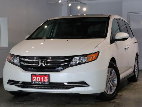 Pre-Owned 2015 Honda Odyssey EXL RES - ONE OWNER CLEAN CARPROOF SAFE SPACIOUS FWD Mini-van, Passenger