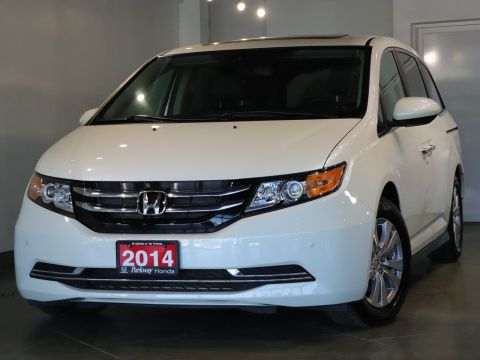 Certified Pre-Owned 2014 Honda Odyssey EX-L - ONE OWNER ACCIDENT FREE ADVENTURE READY With Navigation