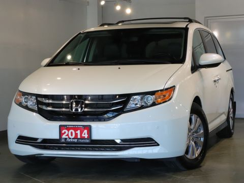 Pre-Owned 2014 Honda Odyssey EXL RES - ONE OWNER ADVENTURE READY WITH BLINDSPOT CAMERA FWD Mini-van, Passenger