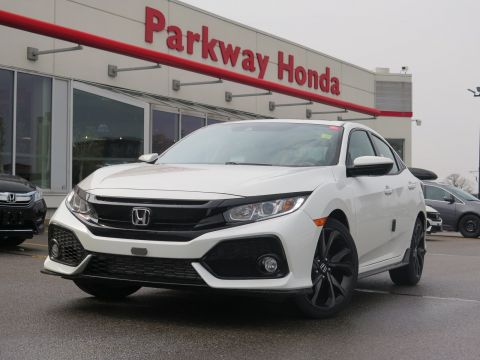 New 2018 Honda Civic Hatchback Sport FWD Hatchback