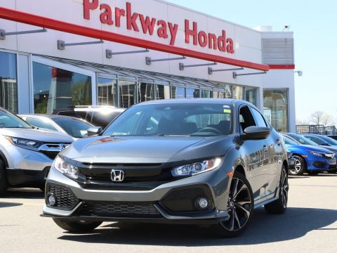 New 2018 Honda Civic Hatchback Sport Touring With Navigation
