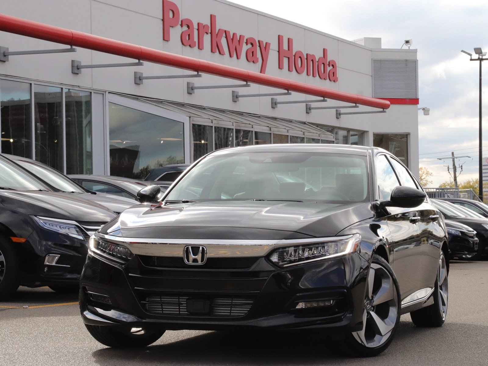 New 2018 Honda Accord Sedan Touring - Demo