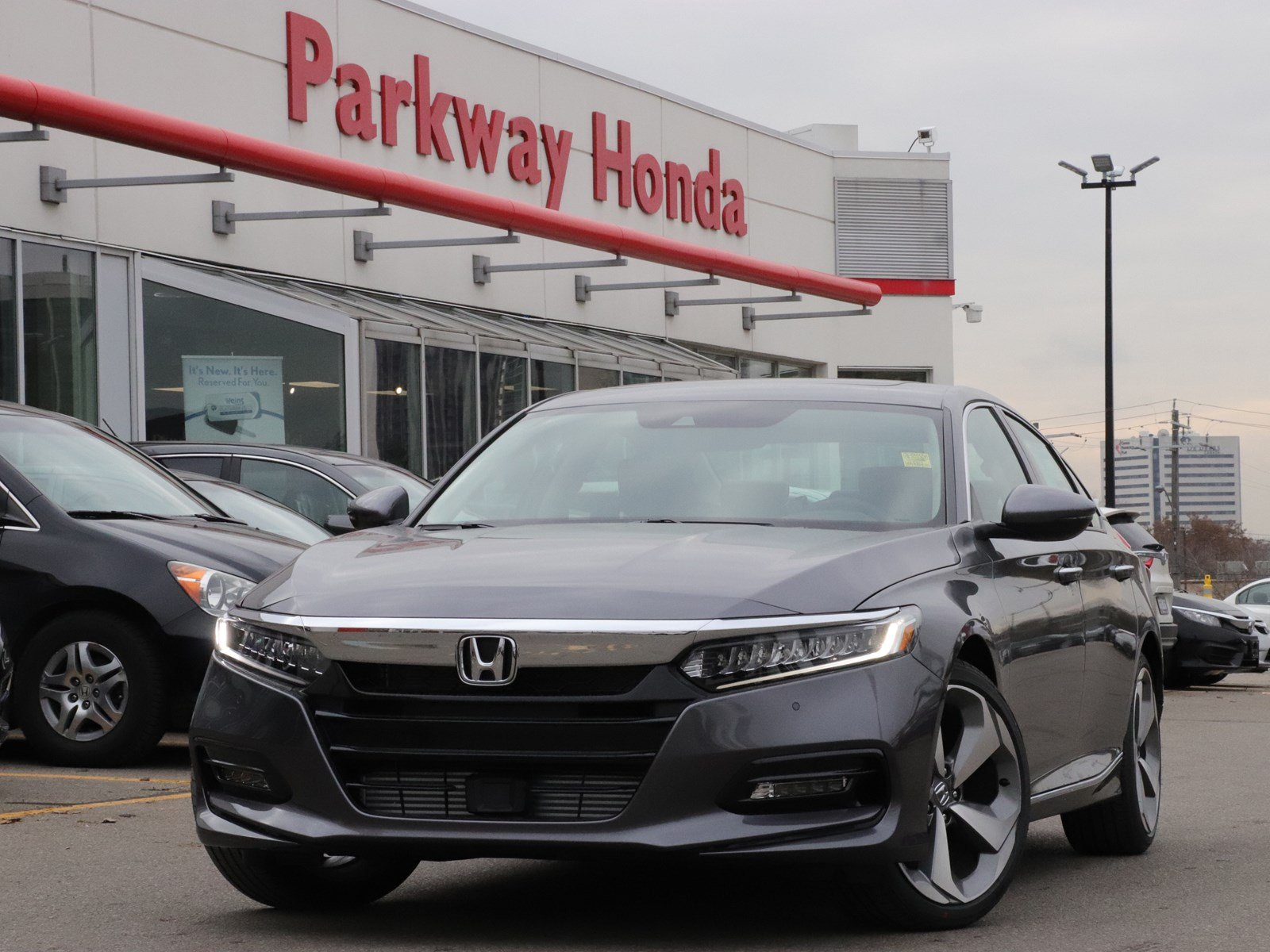 New 2018 Honda Accord Sedan Touring