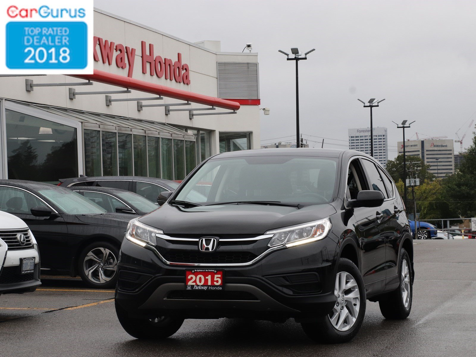 Pre Owned 2015 Honda Cr V Se Sport Utility In Toronto Fh108189