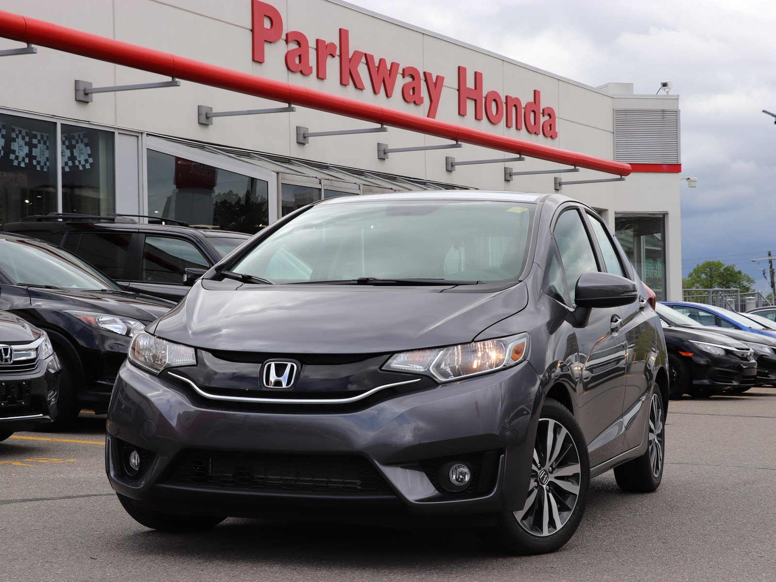 New 2018 Honda Fit EX-L Navi