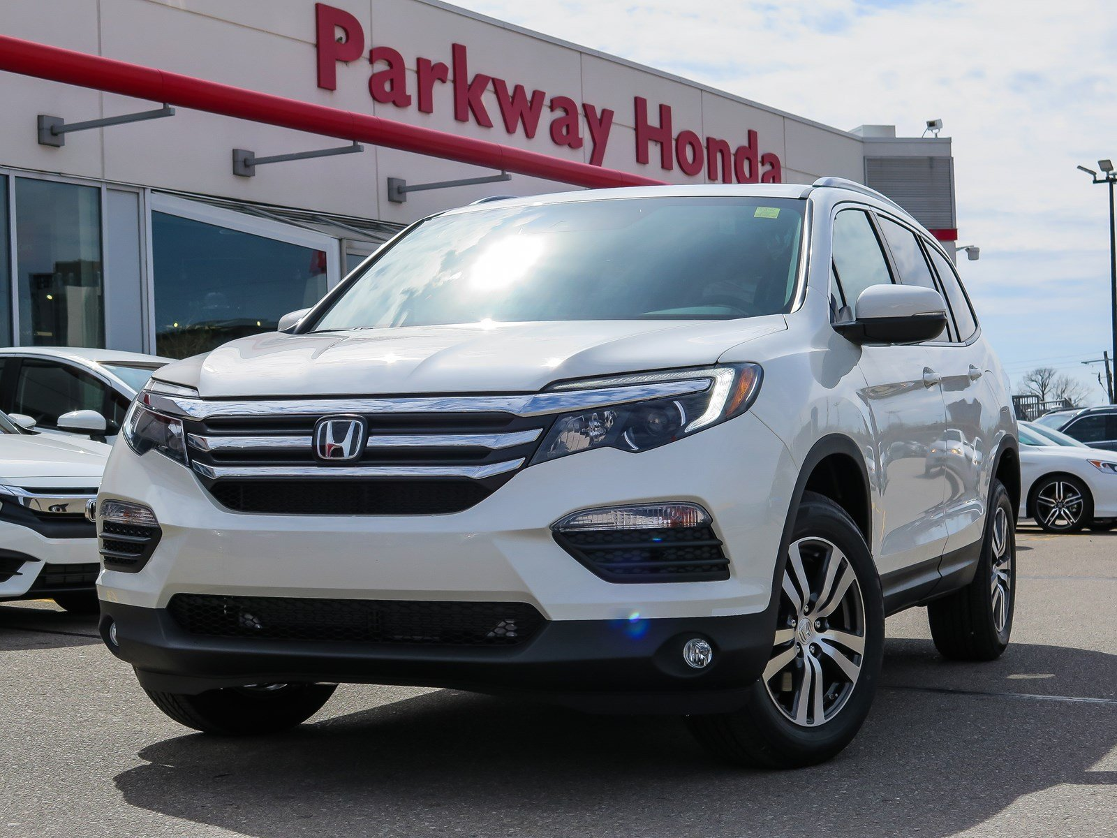 New 2018 Honda Pilot EX-L RES