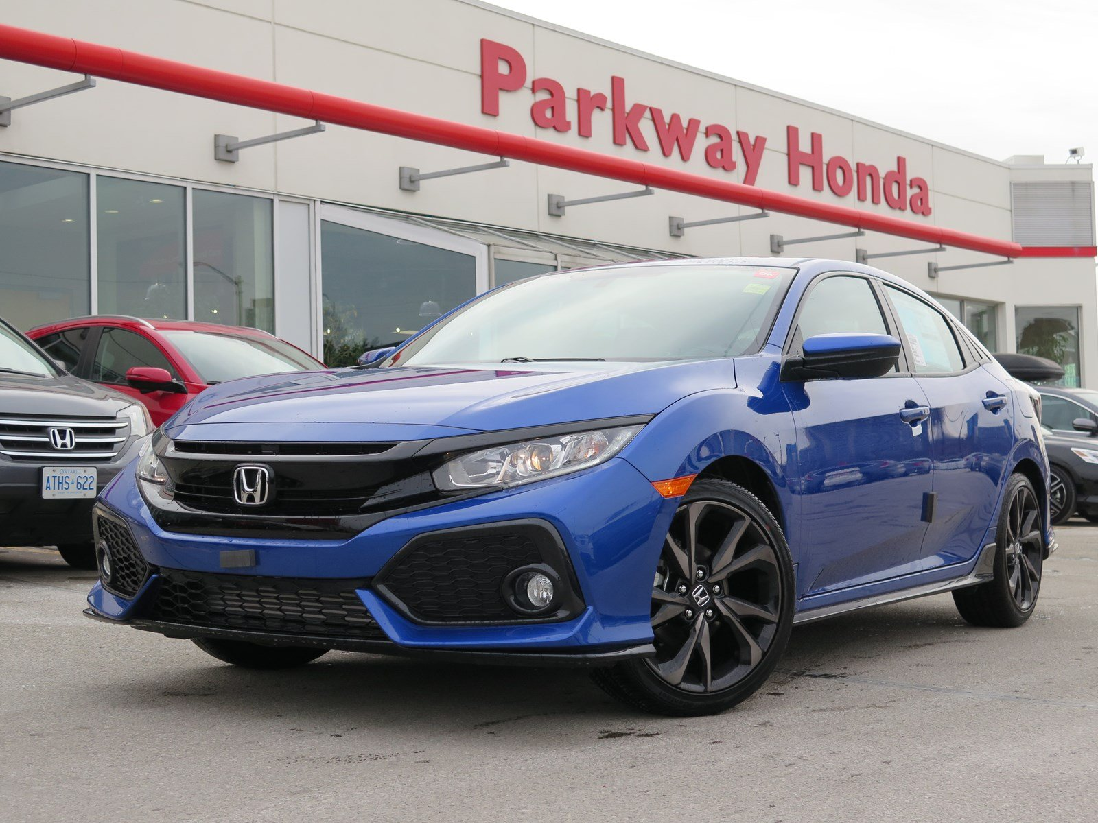 new 2018 honda civic hatchback sport touring hatchback in toronto 829017 parkway honda. Black Bedroom Furniture Sets. Home Design Ideas