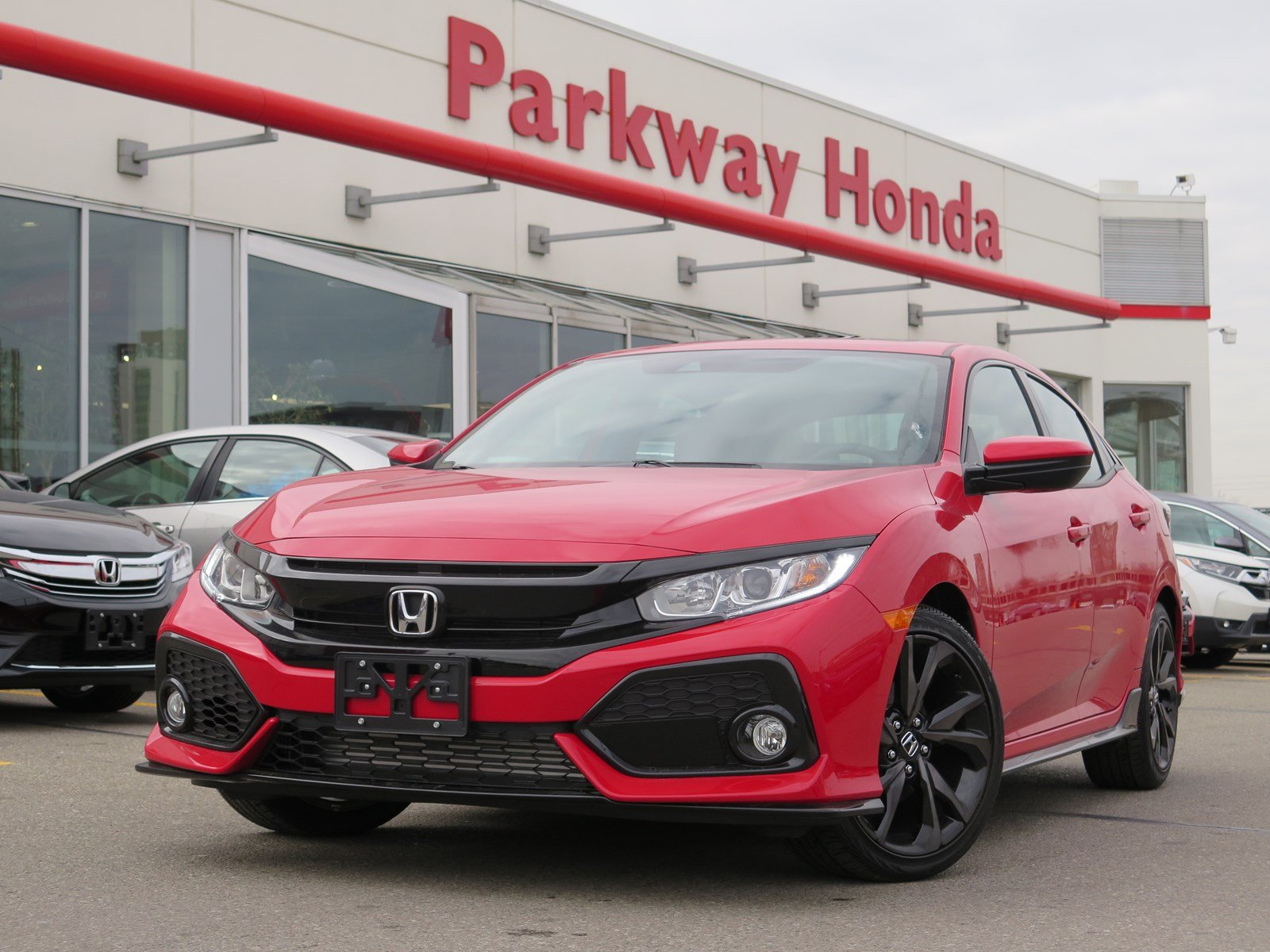 New 2018 Honda Civic Hatchback Sport Touring Hatchback in Toronto